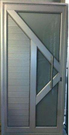Aluminium doors and windows. Retractable security doors and barriers Secunda - image 6