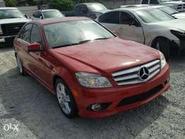 a very clean c300 red color 2010 model