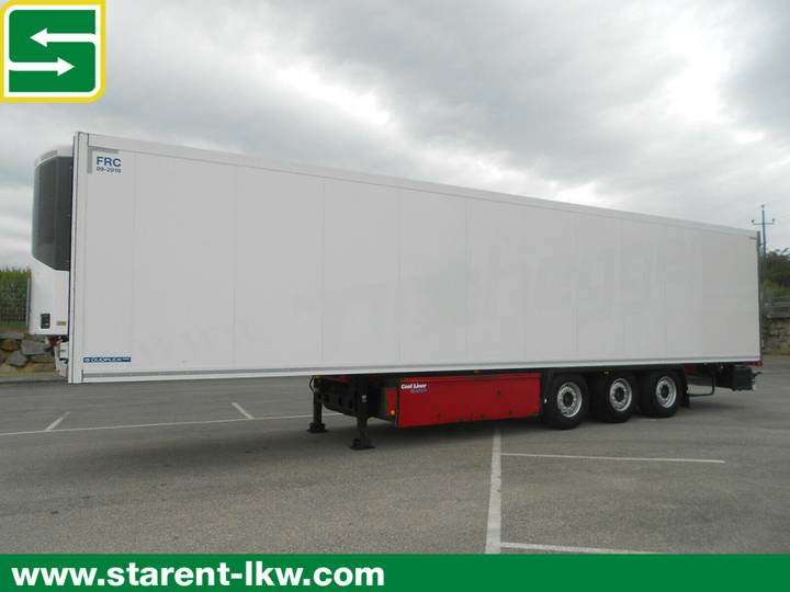 Krone Thermotrailer, Thermo King SLXe 300, Palka - 2012