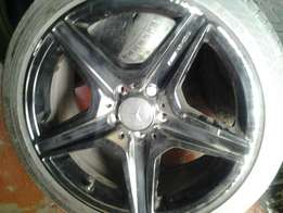18inches AMG meg and tyres