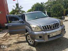 Toyota Prado land cruiser for sale.