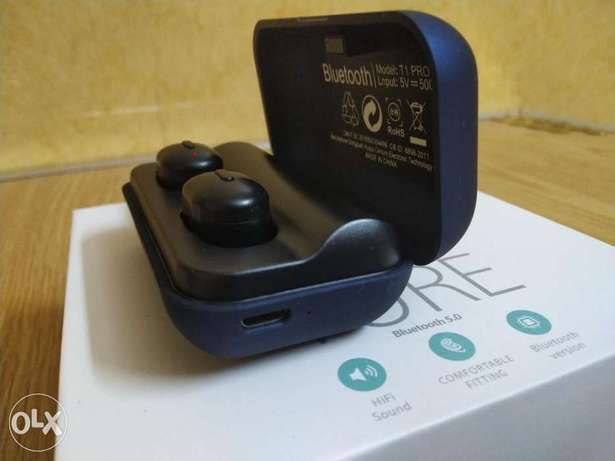 Ture earbuds T1pro bluetooth الرياض -  3