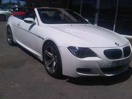 BMW M6 covertible smg