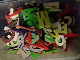 Alphabets R5 each (Min 10 letter) . Choose yo name JOHN, SIPHO, NEO.