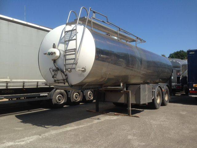 Diversen SEMI-TRAILER ETA WITH TANK IN STAINLESS STEEL 25000 L - 2008