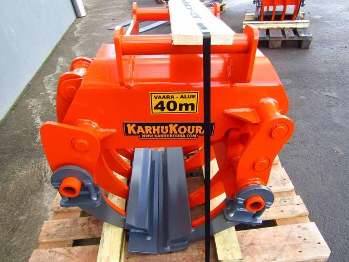 KarhuKoura Kk120ex 8-piikki+lisäleuat, 6-9tn Koneet, S45-sovi - 2018