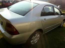 2004 Toyota Corolla 1.6, Good Condition, R59 000.00