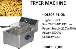Deep Frying Oven/ Chips Fryer Machine