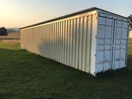 New and Used 6m or 12m containers for storage or export purposes.