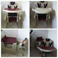 mama love highchair 2 in 1
