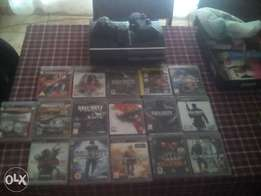 Playstation 3 ;2Controls +16 games