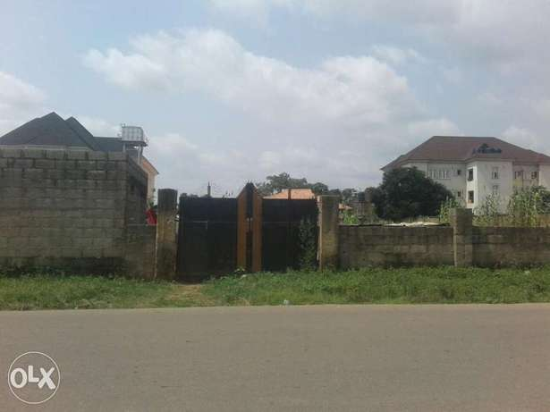 Fenced plot of land for sale in kado Kado - image 1