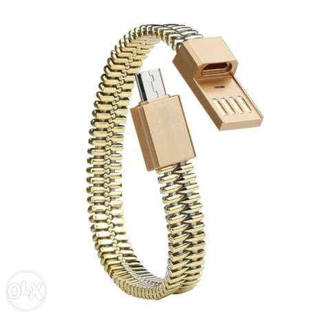 Wearable Micro USB Cable Bracelet Charging Sync Data Cable Cord Surulere - image 1