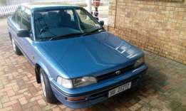1995 Toyota corolla 16v for sale R14800 only cash