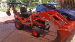 Kubota BX 25 backactor with 2ton trailer for sale