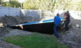 Swimming pools installer
