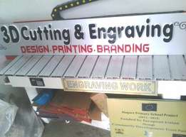 3D Cutting and Engraving Services