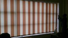Vertical blinds and Carpets and Window films