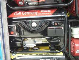 Power genrator golf 3.5 kw