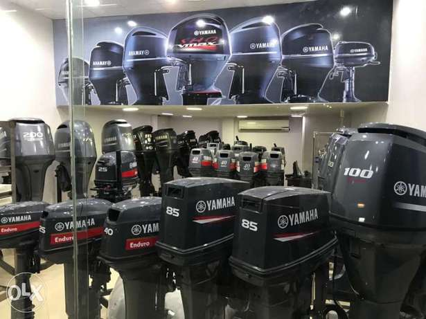 Yamaha outboards used and new