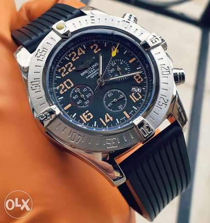 Breitling Rubber watch