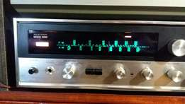 Sansui Model 2000 Stereo Tuner Amplifier & Kenwood Speakers