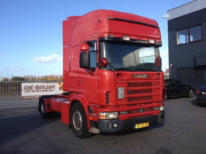 Scania 164 580 Manual Retarder V8 - 2004