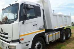 Nissan UD390 10cube Tipper Truck