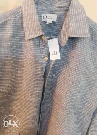 boys linen shirt size small 12-15y