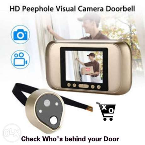 HD Peephole Visual Camera Doorbell. 1$(2,000) L.L