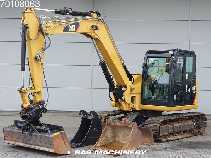 Caterpillar 308E 3 buckets - German dealer machine - 2012
