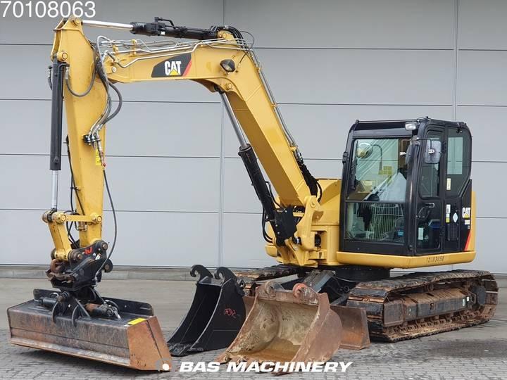 Caterpillar 308E 3 buckets - German dealer machine - 2012