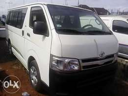 Toyota Hiace(Clean as Tokunbo)