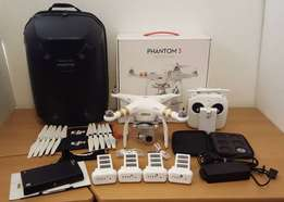 DJI Phantom 3 Professional Excellent Condition LOTS of extras
