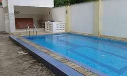 Modern 3 bedroom rental apartment with swimming pool