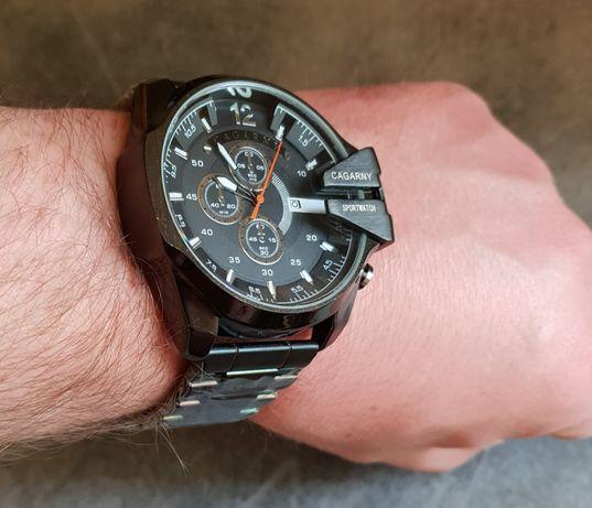 Bardzo dobry Nowy model Cagarny duży zegarek męski Świecie • OLX.pl CR27