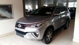 SPECIALS new Toyota Fortuner AT 2.4 white in colour