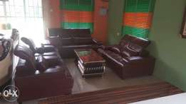 Executive set of sofa with centre table
