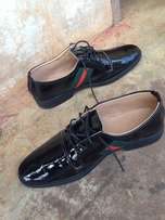 Italian GUCCI Shinning leather Shoe