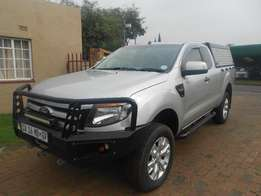 2013 Ford Ranger 3.2 TDCi XLS 4x4 AT PU SUP CAB #3298 (KM's:124800)