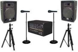 sound system and lighting for events : weddings ,partys and launches