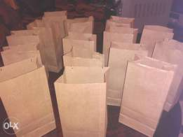 Khaki Paper Bags With Unbeatable Price Country Wide