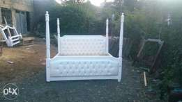 white 6/6 new bed
