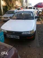 Selling a saloon car worth 480,000khs