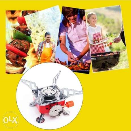 New foldable and portable Mini stove for outdoor cooking بوشر -  5