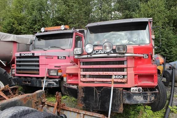 Scania T113 Tippbil 2 Stk - 1995