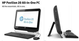 "HP Pavilion 20"" Core2Duo 2.6GHz 4GB 500GB All-in-One PC"