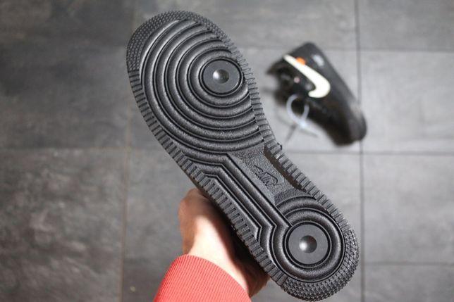 Nike Air Force 1 Off White BLACK 41 45 meskie trampki Gdańsk