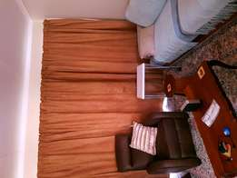 Brown suede curtains for sale!!