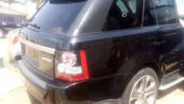 Registerd 2012 model range rover sport supercharged